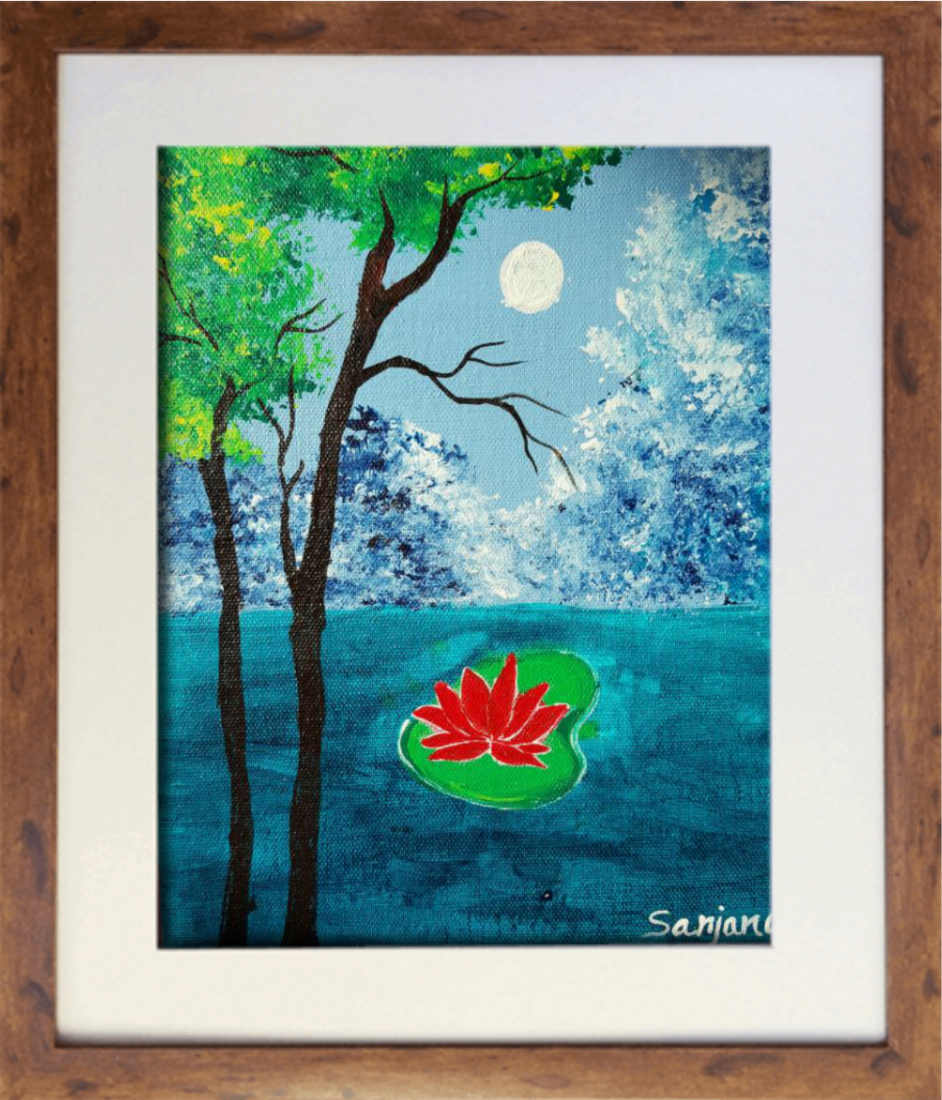 PAINTING NO 5 - THIS PAINTING IS FOR SALE RS 5001/-
