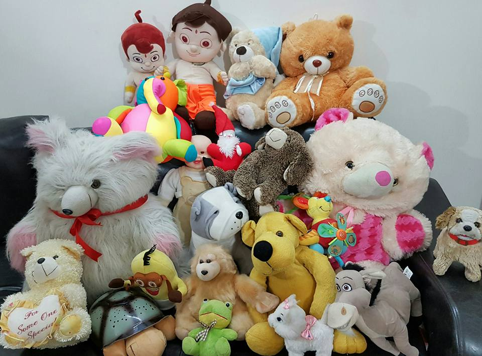 Toy donation to deaf and mute children in Jawhar- Toys are children's words and play is their language
