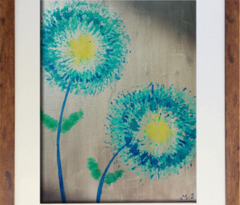 PAINTING NO 4 - THIS PAINTING IS FOR SALE RS 5001/-